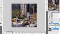 PS教程每日一教PS打造移轴照片效果