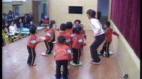 幼儿园小班体育教案活动《好玩的布垫》课堂说课评课视频115