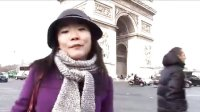 震惊!!!网友实拍巴黎凯旋门险遭撞机!!
