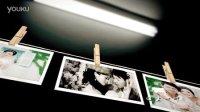 002AE婚礼模板浪漫图片墙展示