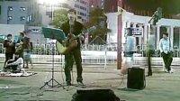 广州太阳城广场的街头歌手 值得