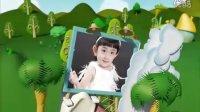 AE儿童大型3D电影相册自动模板【小兔乖乖】