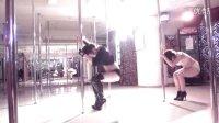 南京白妍舞蹈培训钢管舞 婷婷和宝儿钢管舞美秀