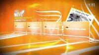 84 business showcase 商业图片排列板式AE模板