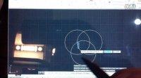 V8P用笔在CAD里面画了个花