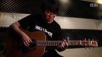 经典的指弹独奏曲【无题】圣马可CL160民谣吉他