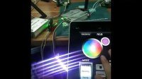 苹果ipad效果演示-智能LED灯具WIFI无线调光调色温