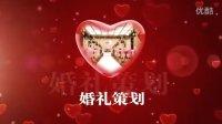 AE片头模版020(问鼎传媒)2013年10月更新 心形浪漫婚礼视频制作