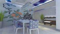 重庆液体壁纸-新型室内装修材料数码彩砂漆