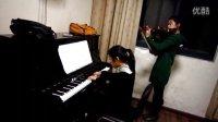 浙江农林大学08级财会专业俩女生钢琴小提琴合奏---梁祝