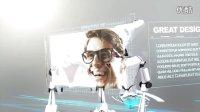 人工智能机器人AE模板