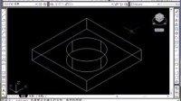 金达网_AutoCAD视频教程_8.1.2 差集运算