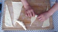牛角面包的制作