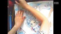 手绘动漫水彩彩铅上色 动漫手绘2漫画教程