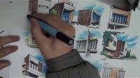 手绘迷—建筑立面训练
