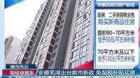 安徽芜湖出台救市新政 免契税补贴买房 20120210 财经早班车