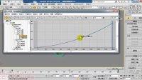 【3D动画教程】03-02-05:曲线编辑器(五)_减缓和增强曲线