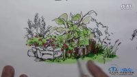 同济大学快题设计--植物景观小品快速表现