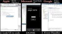 看三大移动平台开发工具的效率比较! XCode, Eclipse, Visual Studio