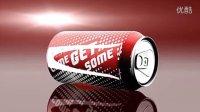 AE模板 1537 三维易拉罐饮料产品展示AE模板