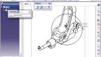 catia v5工程图创建局部视图9-1-5-1