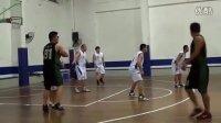 甬城篮球联盟2012年联赛:奥克索拼客网络篮球队  VS  兴易达篮球队