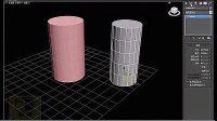 3dmax教程3dmax入门3dmax建模室内设计教程8圆柱体的创建 标清