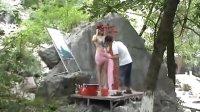 桂林叠彩山公园美女人体秀
