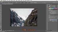 [PS]超清 photoshop CS6教程—缩放、倾斜,旋转使用自由变换