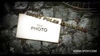 [AE模板]石板背景中的图片拼图效果展示模板(含音频)