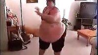 国外超胖美女的健身操,吓死我了【吉安侃侃.