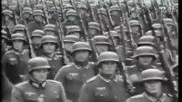 德国军队二战时的普鲁士式正步走方阵