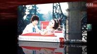 婚庆开场视频制作 AE制作结婚相册