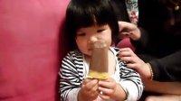 第一次吃巧克力冰淇林1