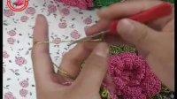 【娟子毛线店】八片半花朵包 第2集 半朵花钩织 钩包视频 钩包包 手工钩织包包