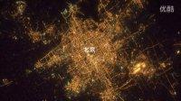 北京上海及周边城市群夜晚卫星地图