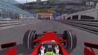 F2008摩纳哥蒙特卡罗单圈冲刺