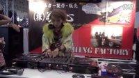 dj舞曲日本和服美女dj打碟现场-热舞女dj表演20140111