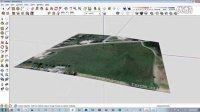 利用SketchUp 8版本地理信息模型导入Revit中绘制彩色地形视频