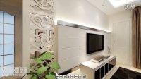 保利拉菲装修设计76平简约两室两厅-武汉面对面装饰-86626538