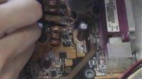 自学电脑维修视频教程 主板维修入门不开机故障案例-上管问题