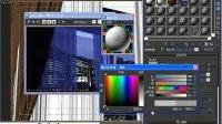 单色窗纱与花纹窗纱-VR室内全应用教程3DMAX完全自学教程室内高级教程