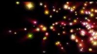 [AE模板]彩色星光闪耀效果模板