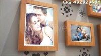 AE婚礼写真模板2-Love Photo Gallery-范冰冰婚纱写真专辑