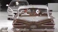 【发现最热视频】雪佛兰1959VS2009款车型冲撞测试