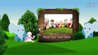 快乐的卡通儿童公园,可做儿童节AE模板276
