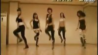 韩国美女,性感,甩奶舞.
