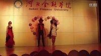 河北金融学院第五届服装设计大赛特等奖-一往情深团队哥特风格作品