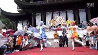 2012年苏州盘门端午祭 雨中的光之美少女舞蹈(2012 06 23)
