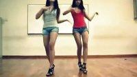 韩国小妹牛仔裤自拍热舞背景舞曲sistar《so cool》 高清